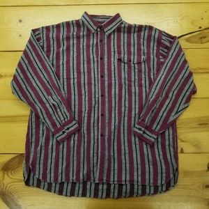 Vintage Flannel Button Down Shirt. AMAZING! Wow!